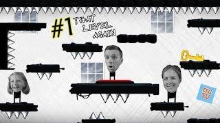Download ПОВСЮДУ ЛОВУШКИ ПОБЕГ СТИКМАНА из Комнаты! Милана Мама и Папа играют That Level Again 1 на FFGTV Mp3 and Videos