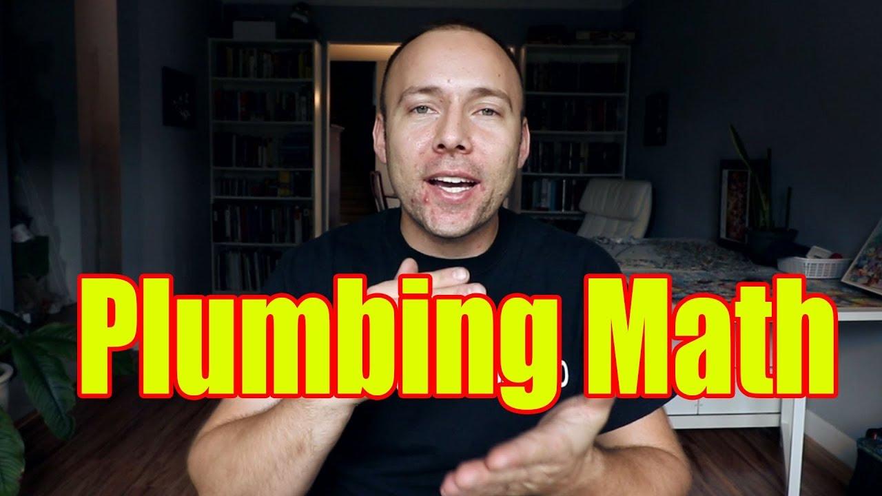 Do You Need Math For Plumbing | Plumbing/Plumber Apprenticeship Math