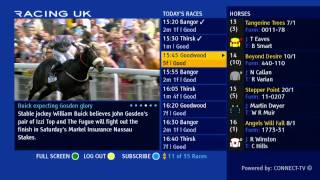 Racing UK on Freeview Channel 231