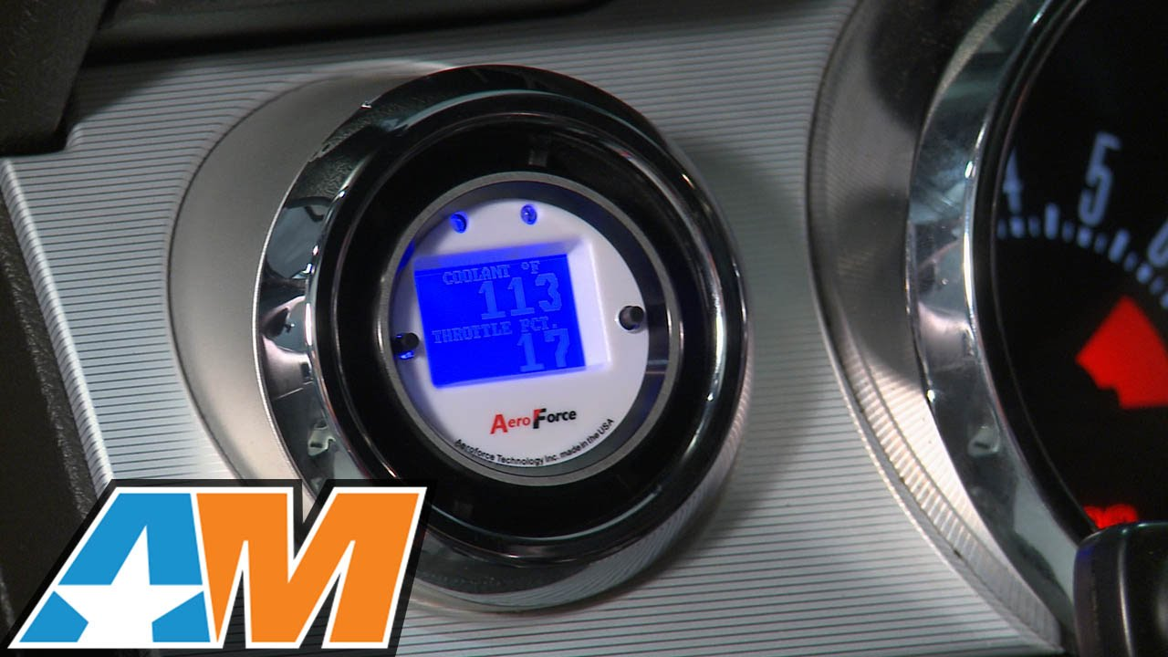 hight resolution of how to install an aeroforce interceptor gauge on your 1996 2012 mustang americanmuscle