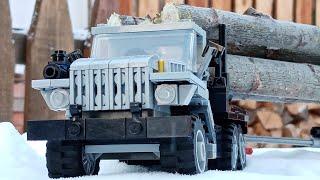 як з лего зробити машину лісовоз