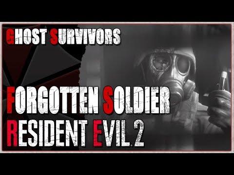 Resident Evil 2 Remake Ghost Survivors DLC - Forgotten Soldier (Intense Stuff) Time 5:21