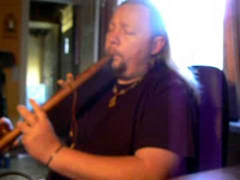 Lullaby for little bear on Native American flute