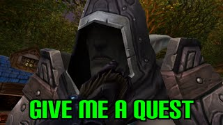 Give me a Quest! - (A WoW Machinima by Nixxiom)