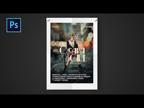 Photoshop cc Tutorial: Movie poster design in photoshop | How to design movie poster
