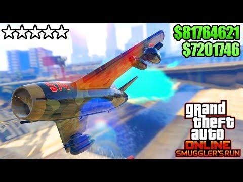 GTA 5 ONLINE NEW SMUGGLER'S RUN DLC $50,000,000 SPENDING SPREE! NEW CARS, AIRCRAFTS & MORE! (GTA V)