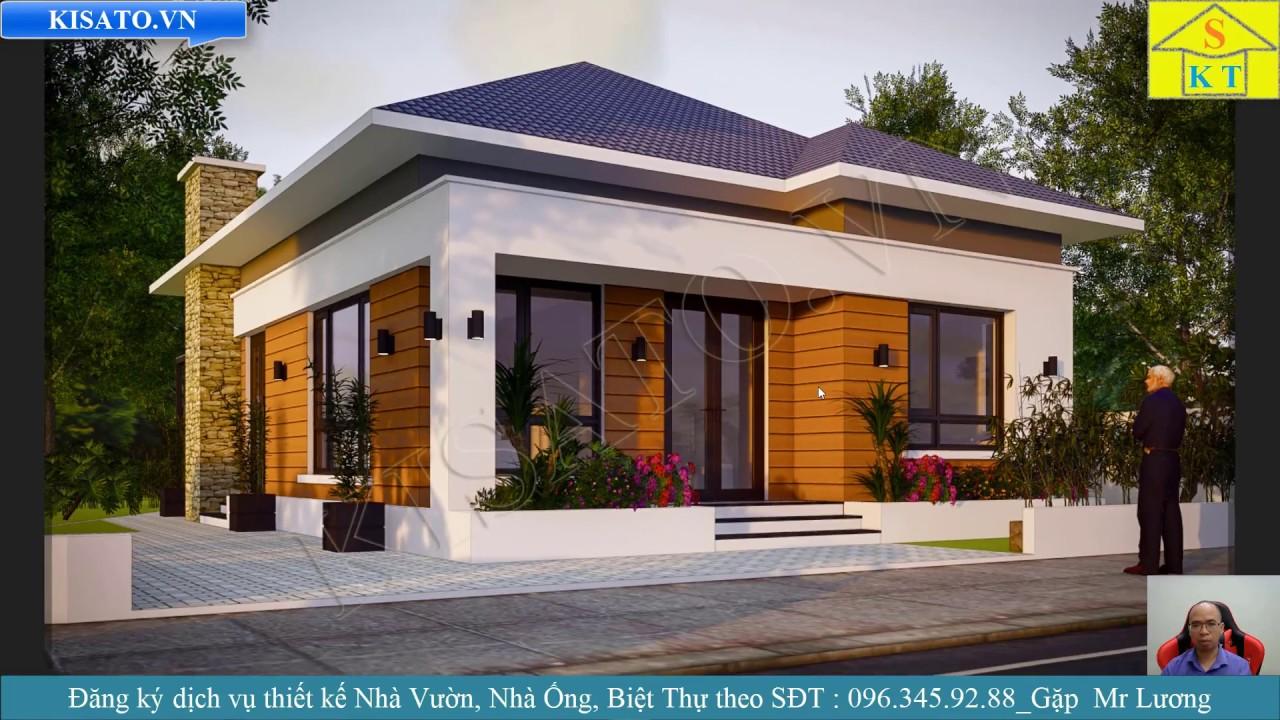 Mẫu Nhà Vườn Cấp 4 Đẹp 3 Phòng Ngủ Tại Khu Đô Thị Số 5 Thịnh Đán Thái Nguyên