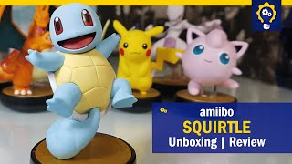 Amiibo Squirtle | Unboxing e Review