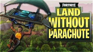 Fortnite: Bataille Royale Atterrissage sans expérience de parachutiste