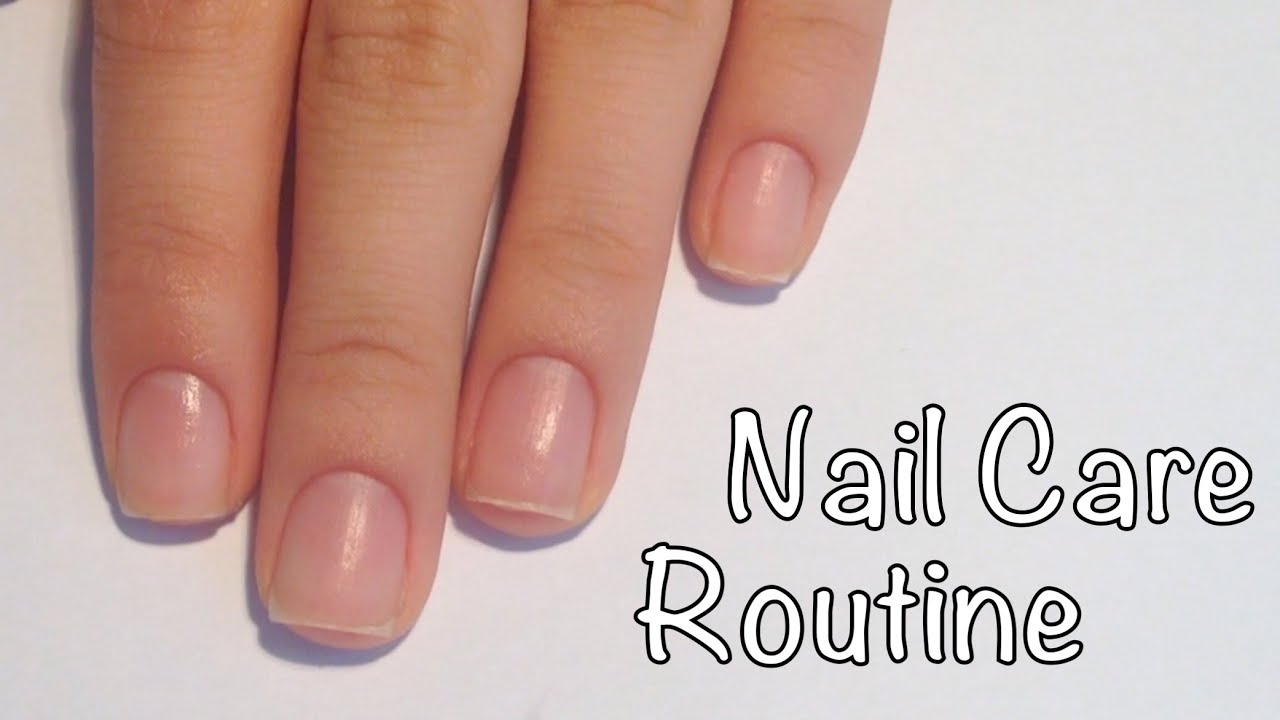 My Nail Care Routine / ane_li - YouTube