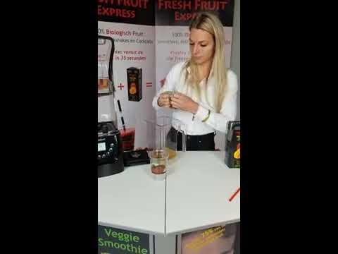 Fresh Fruit Express Preparation Smoothie Blender with sound enclosure English