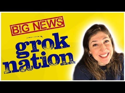 BIG  FROM GROK NATION!  Mayim Bialik