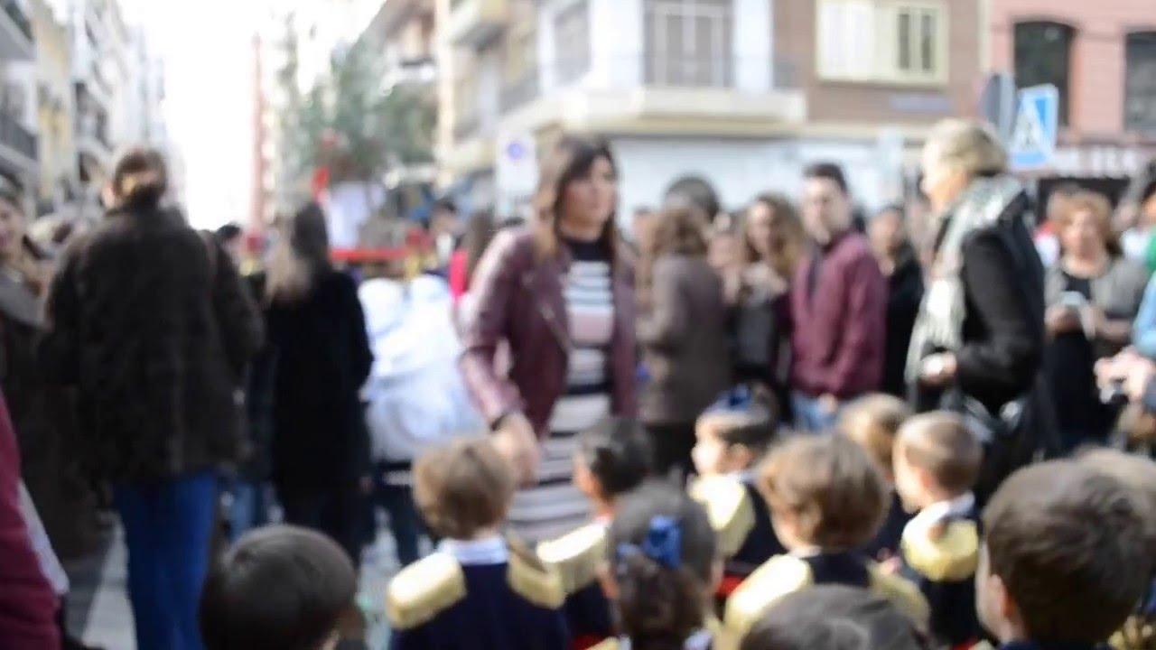 Recordamos un Viernes de Dolores en el Colegio Santa Ana de Sevilla