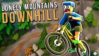 I Crashed My Bike Down a Mountain & It was Awesome! - Lonely Mountains: Downhill Gameplay