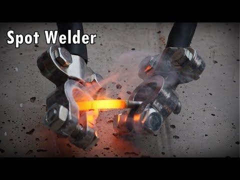 DIY The Metal Melter a spot welder  เครื่องหลอมโลหะ  เชื่อมแบบจุด
