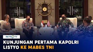 Kunjungan Pertama Kapolri Listyo Sigit ke Mabes TNI AL