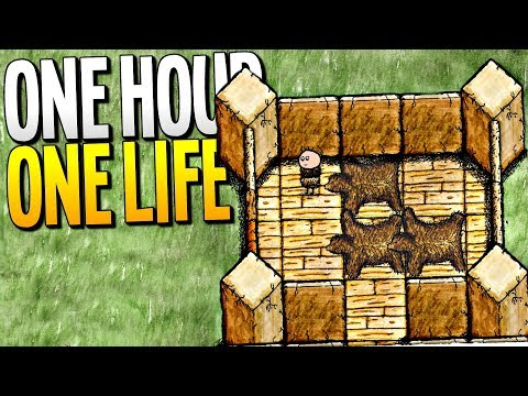 LIVING IN A BEAR RUG MANSION IN OUR MOST ADVANCED VILLAGE - One Hour One Life Gameplay