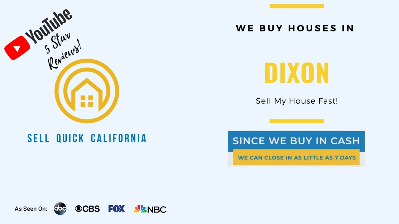 We Buy Houses In Dixon California [Real Estate Investor Property Walk Through]