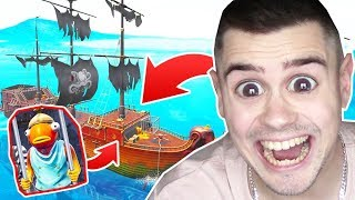 ENTKOMME dem PIRATEN SCHIFF in Fortnite ..