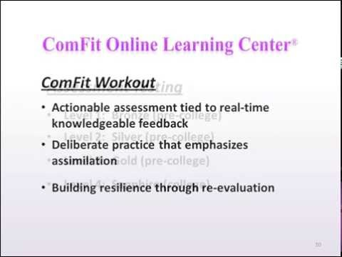 ComFit Online Learning Center™ demonstration