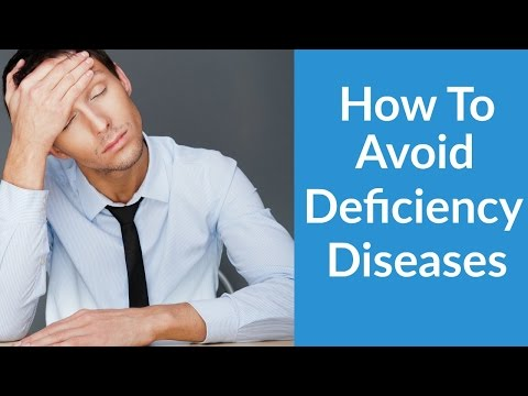 Deficiency Diseases - Benefits Of Drinking More Water
