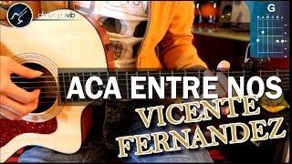 "vuclip Cómo tocar ""Acá Entre Nos"" de Vicente Fernández en guitarra acústica (HD) Tutorial - Christianvib"