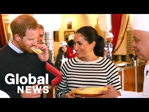 Meghan Markle and Prince Harry wrap up Moroccan royal tour with cooking class