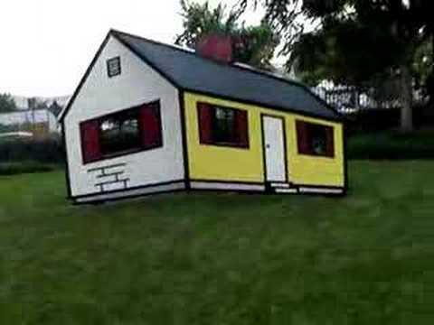 Roy Lichtenstein- House #1, Sculpture Garden in DC - YouTube