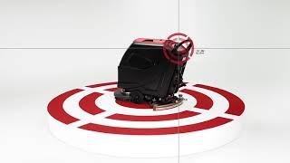 Viper AS5160T - Pedestrian Scrubber Dryer at WB Floor Machines