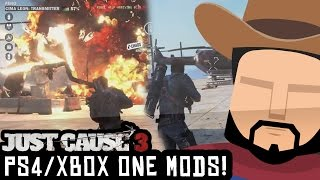 Just Cause 3 - PS4 & Xbox One Mods/Multiplayer Mod On Console? (Just Cause 3 Gameplay/Show)