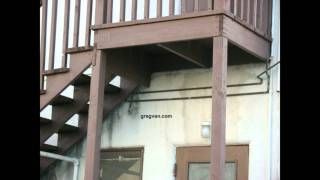 Think Twice Before Using Pressure Treated Lumber For Stairway
