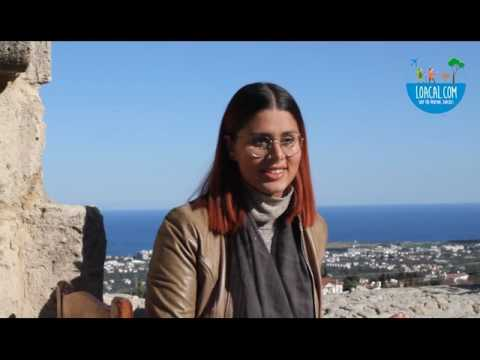 Meet Ledün! She is welcoming you to Kyrenia.