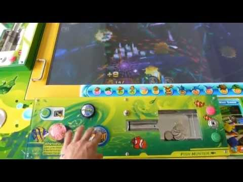Fish Hunter Plus - Arcade Machine Overview