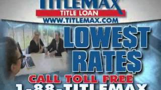 TitleMax Title Loans 10K Tax Refund Commercial