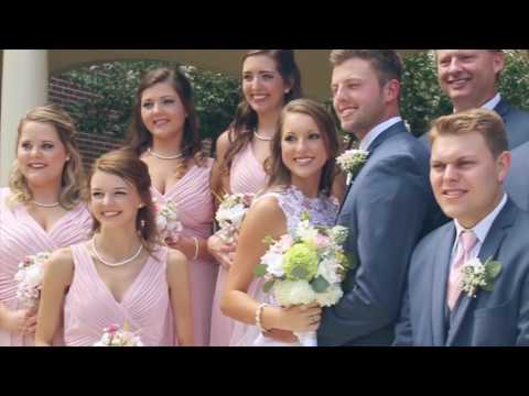 Casey & Elizabeth Fowler Wedding Highlight by Britt Burns Creative