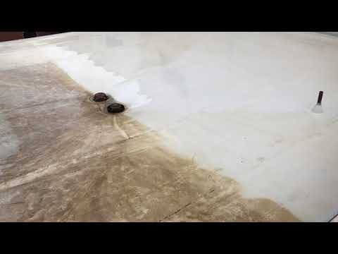 Cleaning TPO Membrane Roofing Systems