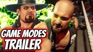 WWE 2K Battlegrounds Game Modes Trailer Reveals Online Focus & A NEW Never Before Seen WWE Campaign