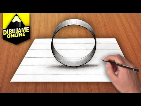 como-dibujar-un-circulo-en-3d