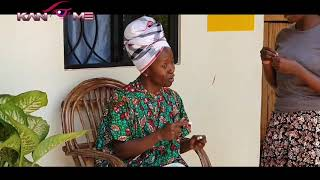 Kansiime in kwarantin with Praise the daughter. African comedy.