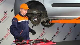 Sådan udskifter du baghjulsleje på FIAT DOBLO 2 [Guide]