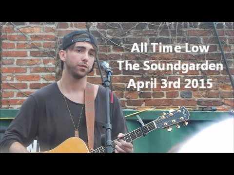 The Sound Garden All Time Low