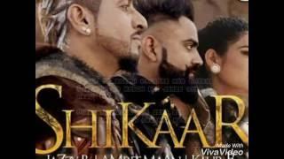 shikaar   jazzy b   amrit maan   kaur b lyrics video
