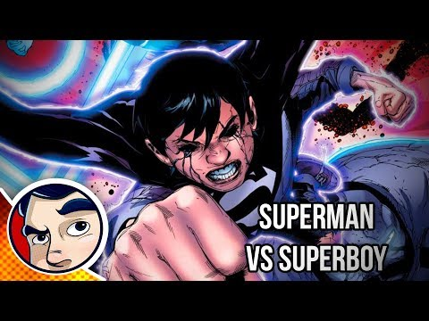 Superman Vs Evil Superboy Black Black Dawn  Rebirth Complete Story