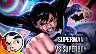 "vuclip Superman Vs Evil Superboy Black ""Black Dawn"" - Rebirth Complete Story 