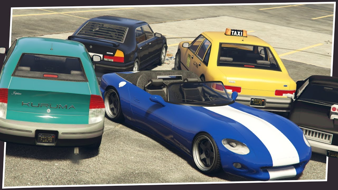 Hd Gta 3 Cars For 5