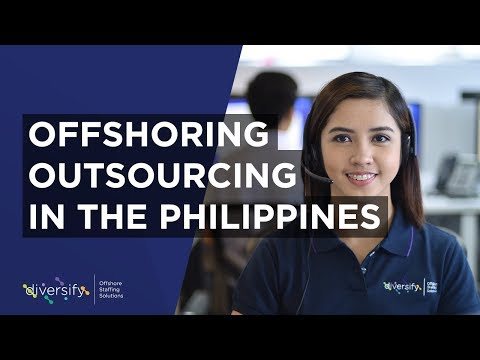 Outsourcing and Offshoring in the Philippines | Diversify OSS Company AVP
