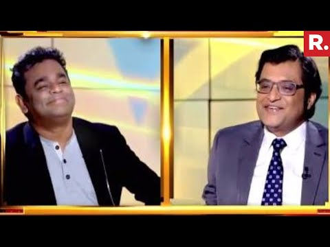 A R Rahman On Nation Wants To Know With Arnab Goswami | Exclusive