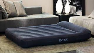 Обзор надувного матраса Intex 66770 и ножного насоса Intex 68610.