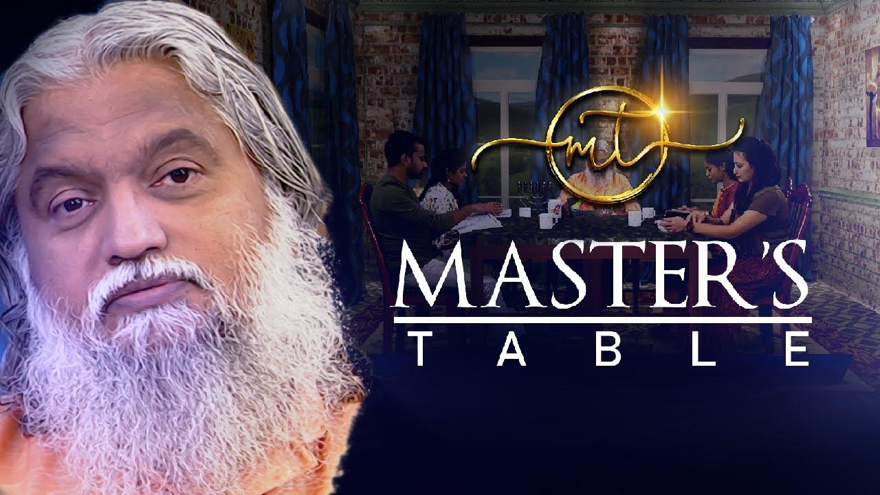 Master's Table   Sadhu Sundar Selvaraj   Episode 9