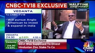Exclusive: Anil Agarwal, Chairman, Vedanta Speaks on Hindustan Zinc Buyout